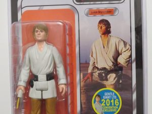 STAR WARS RETURN JEDI | KENNER LUKE SKYWALKER FIGURE | BROWN HAIR | SDCC 2016