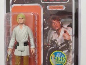 STAR WARS RETURN JEDI | KENNER LUKE SKYWALKER FIGURE | BLONDE HAIR
