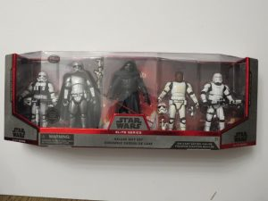 Disney Store Exclusive | STAR WARS ELITE SERIES DELUXE 5 FIGURE GIFT SET