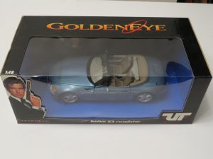 BOND 007 | GOLDEN EYE | 1/18 BMW Z3 ROADSTER | UT MODELS