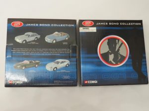CORGI TY95903 | Bond 007 | Film Canister 4 Piece Gift Set