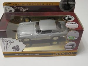 007 Bond | Corgi | CASINO ROYALE | Aston Martin DB5 Directors Cut