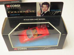 Goldeneye | FERRARI F355 |Corgi | Bond 007