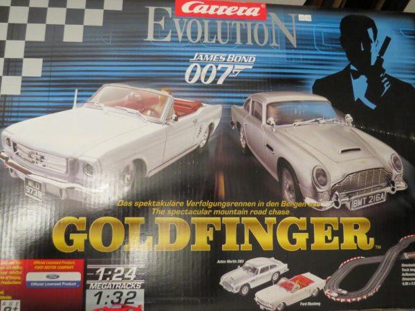 Carrera Evolution 25330 | 007 Bond | Goldfinger Slot Car Set