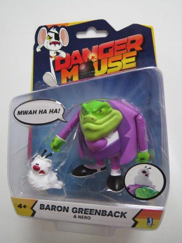 Danger Mouse Baron Greenback Figure