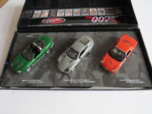 007 Bond | Die Another Day | 3 Car Set | Minichamps