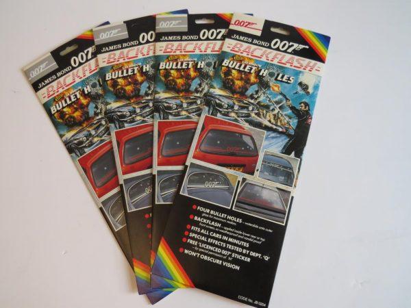 James Bond 007 Car Sticker Set