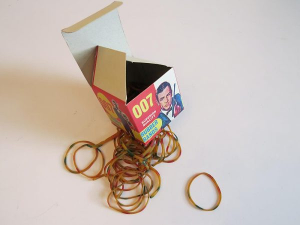 JAMES BOND 007 RUBBER BANDS