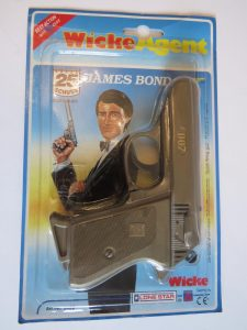 JAMES BOND 007 WALTHER PPK PISTOL TOY WICKE