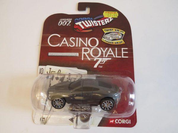 CORGI JAMES BOND  007  TWISTERZ ASTON MARTIN DBS. Rare unopened toy car.