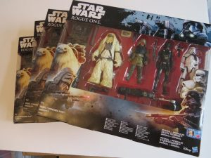 Star Wars Rogue One Action Figure Set. Tesco Exclusive