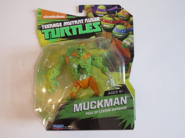 TMNT Turtles Muckman Action Figure by Playmates