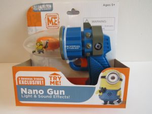 Despicable Me MINION Nano Gun universal studio exclusive