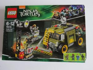 LEGO 79115 TURTLE VAN TAKEDOWN tmnt
