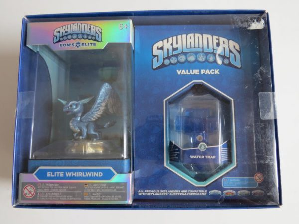 SKYLANDER FIGURE      ELITE WHIRLWIND VALUE PACK