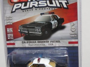 GREENLIGHT POLICE 1974 DODGE MONACO FOR SALE CALIFORNIA HIGHWAY PATROL