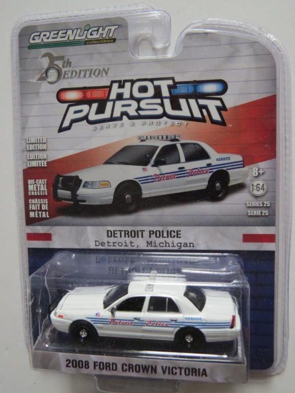 GREENLIGHT POLICE 2008 FORD CROWN VICTORIA FOR SALE