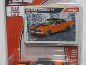 GREENLIGHT 1970 DODGE CHALLENGER ORANGE