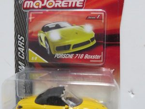 MAJORETTE PORSCHE 718 BOXSTER yellow for sale