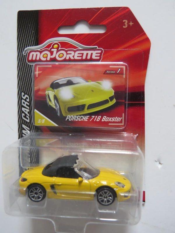 MAJORETTE PORSCHE 718 BOXSTER yellow for sale