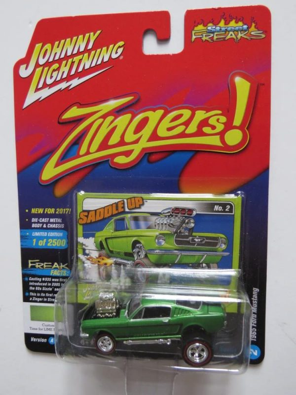 JOHNNY LIGHTNING ZINGERS FORD MUSTANG LIMITED EDITION