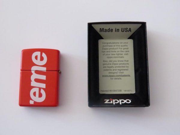 SUPREME ZIPPO LIGHTER for sale