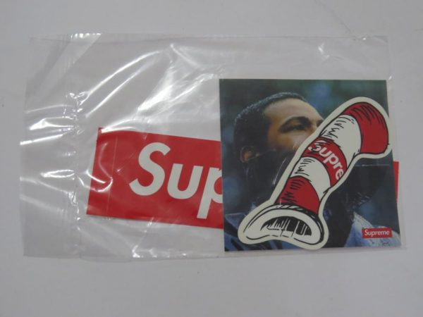 Supreme X Marvin Gaye and Cat in the Hat Sticker set for sale