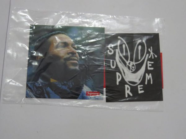 Supreme X Marvin Gaye and Smile Face Sticker set for sale