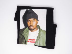 Supreme t-shirt Nasty Nas