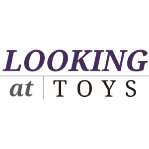looking at toys shop logo