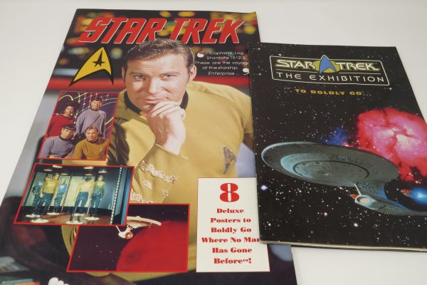 Star Trek Collectible poster book and guide book