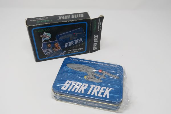 star trek collectible palying cards