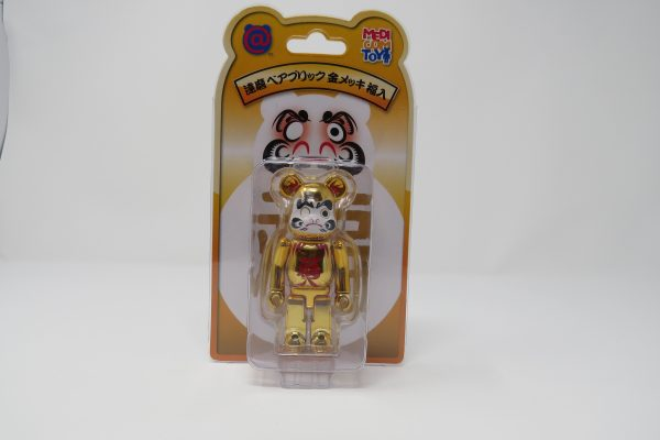 Chrome Gold Be@rbrick Bear | Japan Exclusive