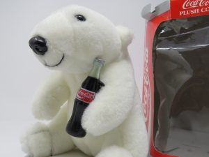 cocca cola polar bear