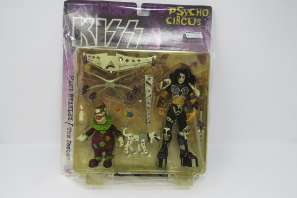 Paul Stanley with The Jester | McFarlane Toys | Kiss