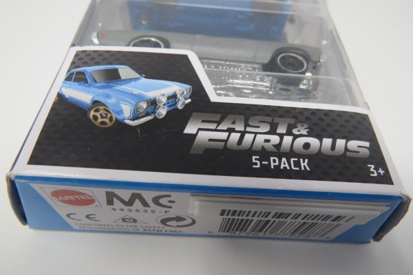 Fast and Furious 5PK