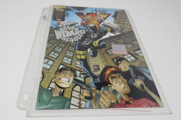 Jimmy Palmiotti Signed Comic