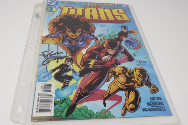 Devin Grayson Signed Comic | Titans