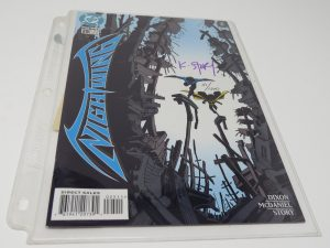 Karl Story Signed Comic | Nightwing