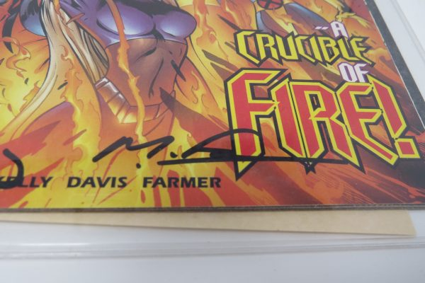 Alan David Signed Comic | X-Men #85