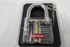 Supreme See Through Padlock