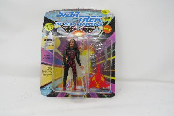 Playmates Star Trek KEhleyr in Klingon Gear